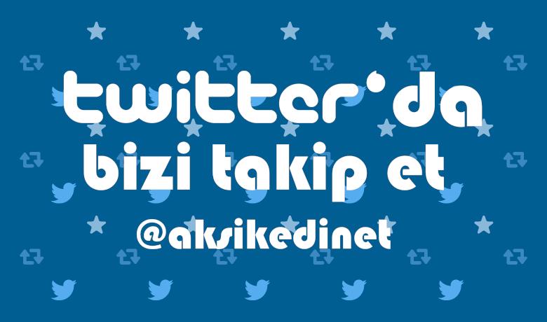 Twitter'da Aksi Kedi'yi Takip Et